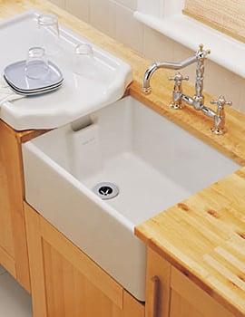Ceramic Sink And Hopper